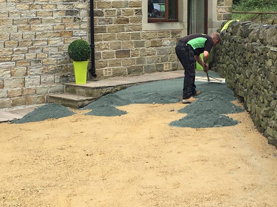 Artificial Grass Installation - Step 4.1