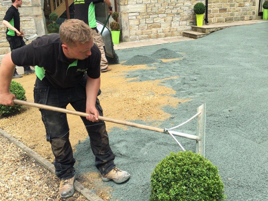 Artificial Grass Installation - Step 4.2