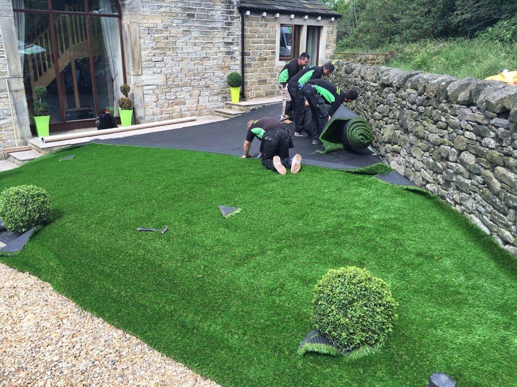 Artificial Grass Installation - Step 7.1