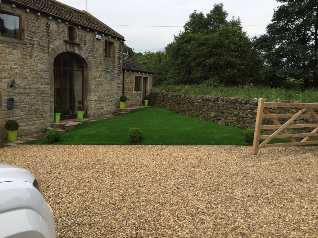 Artificial Grass Installation - Finished Product