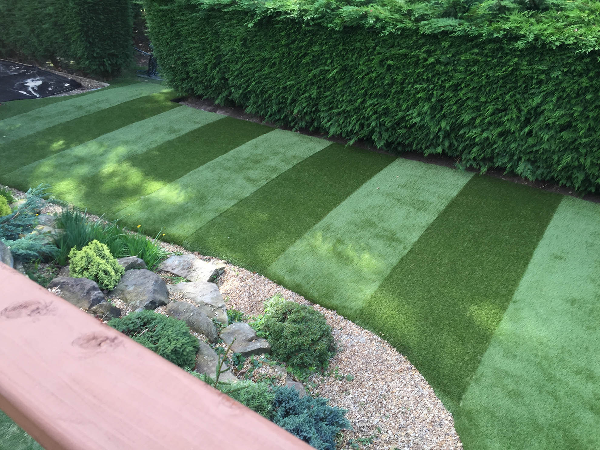 Back Garden Leeds - Artificial Lawn Projects