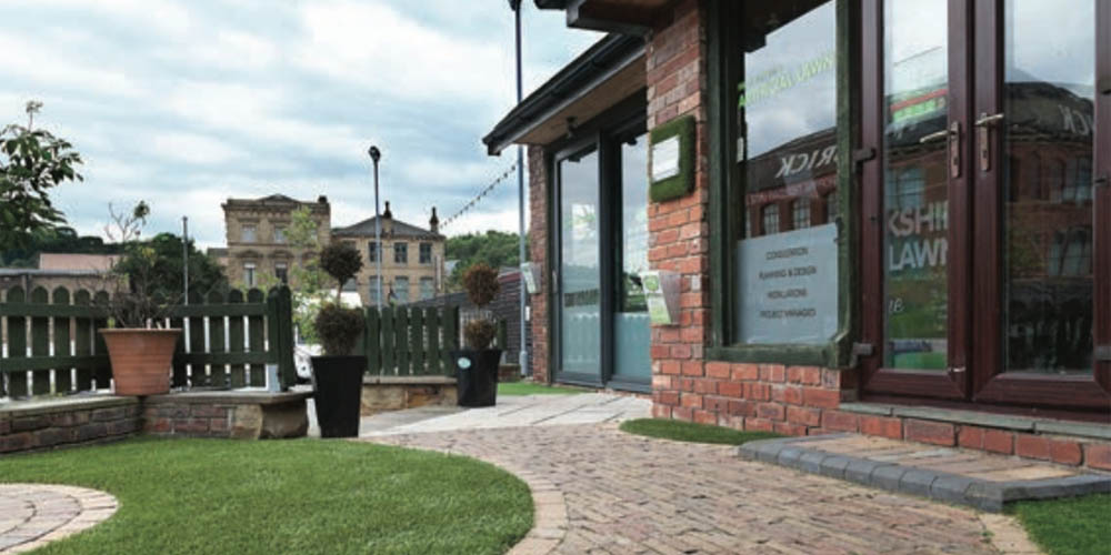 Redbrick Mill Batley - Artificial Grass Showroom