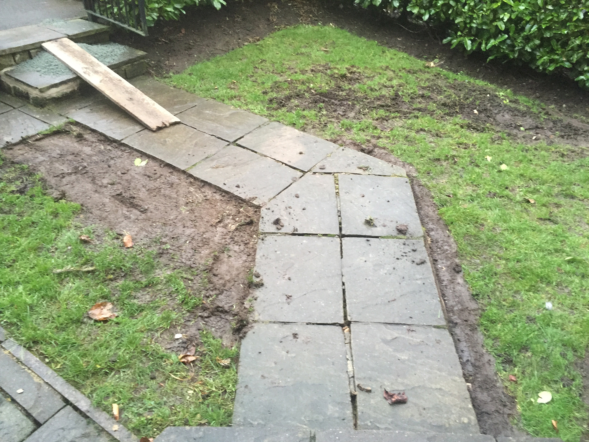 Headingley Back Garden Artificial Grass Installation