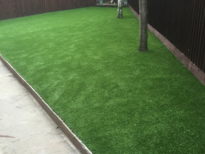 The Drive Alwoodley, Leeds - Artificial Grass Installation