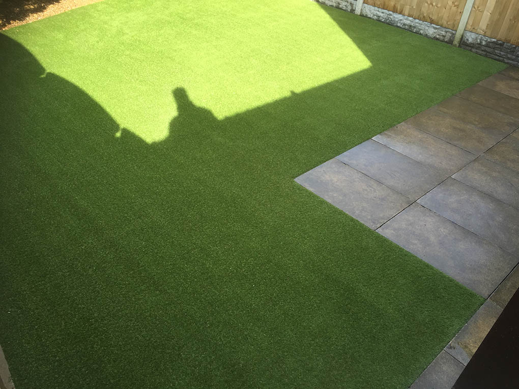 Back Garden Harrogate Artificial Grass After
