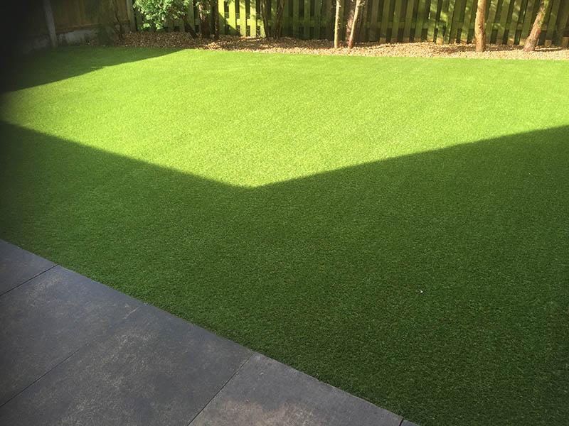 Back Garden Harrogate Artificial Grass After