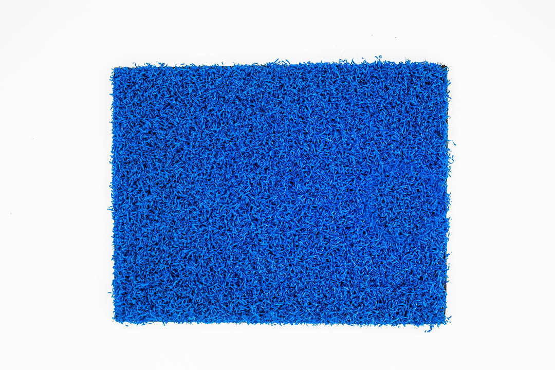 Coloured Artificial Grass Blue - Polished Artificial Grass