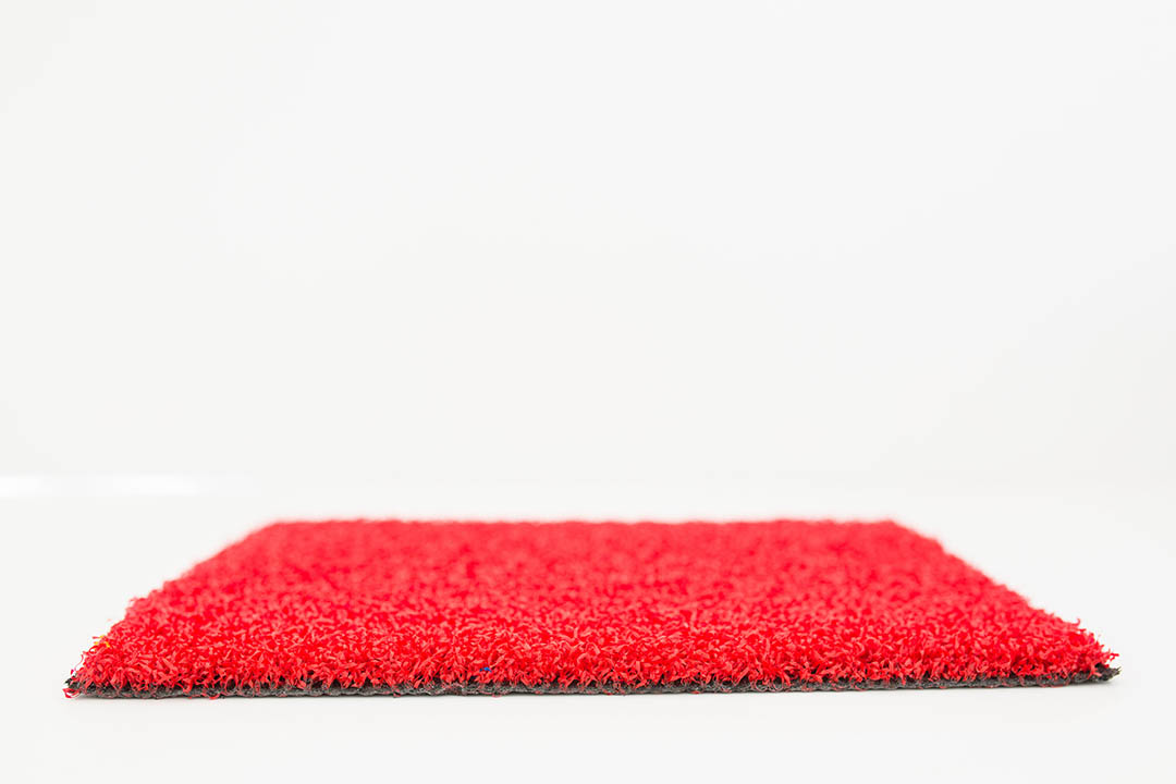 Coloured Artificial Grass Red - Polished Artificial Grass