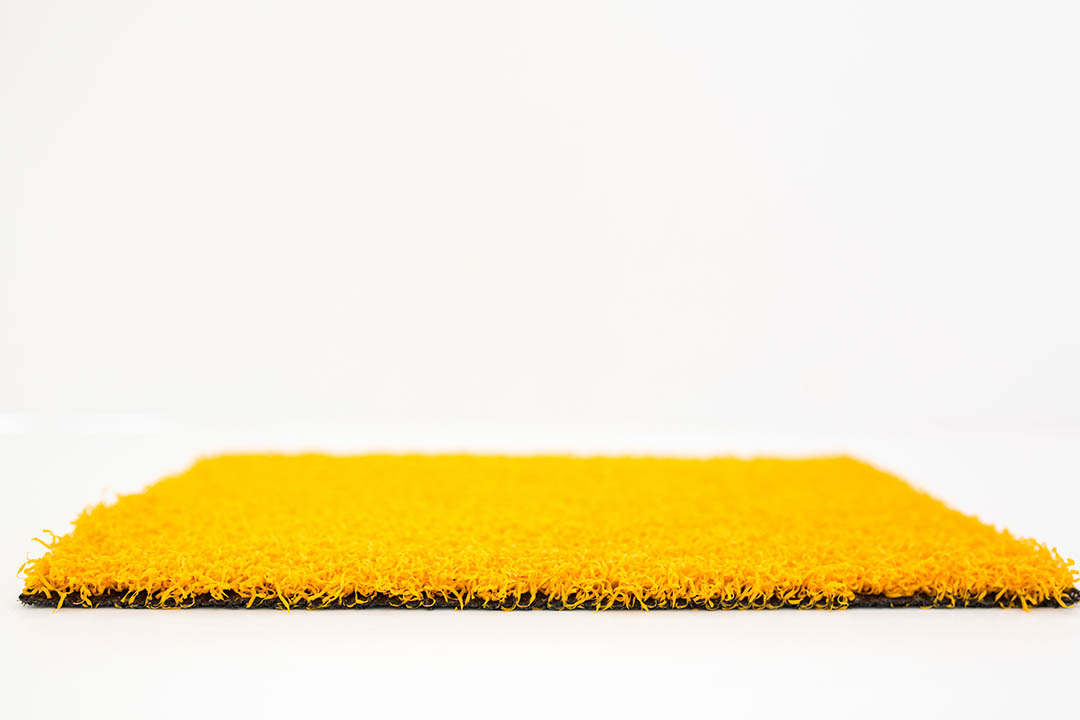 Coloured Artificial Grass Yellow - Polished Artificial Grass