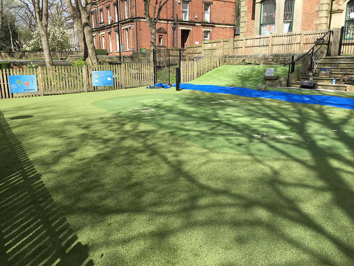 Primary School, Headingley, Leeds - After Artificial Grass