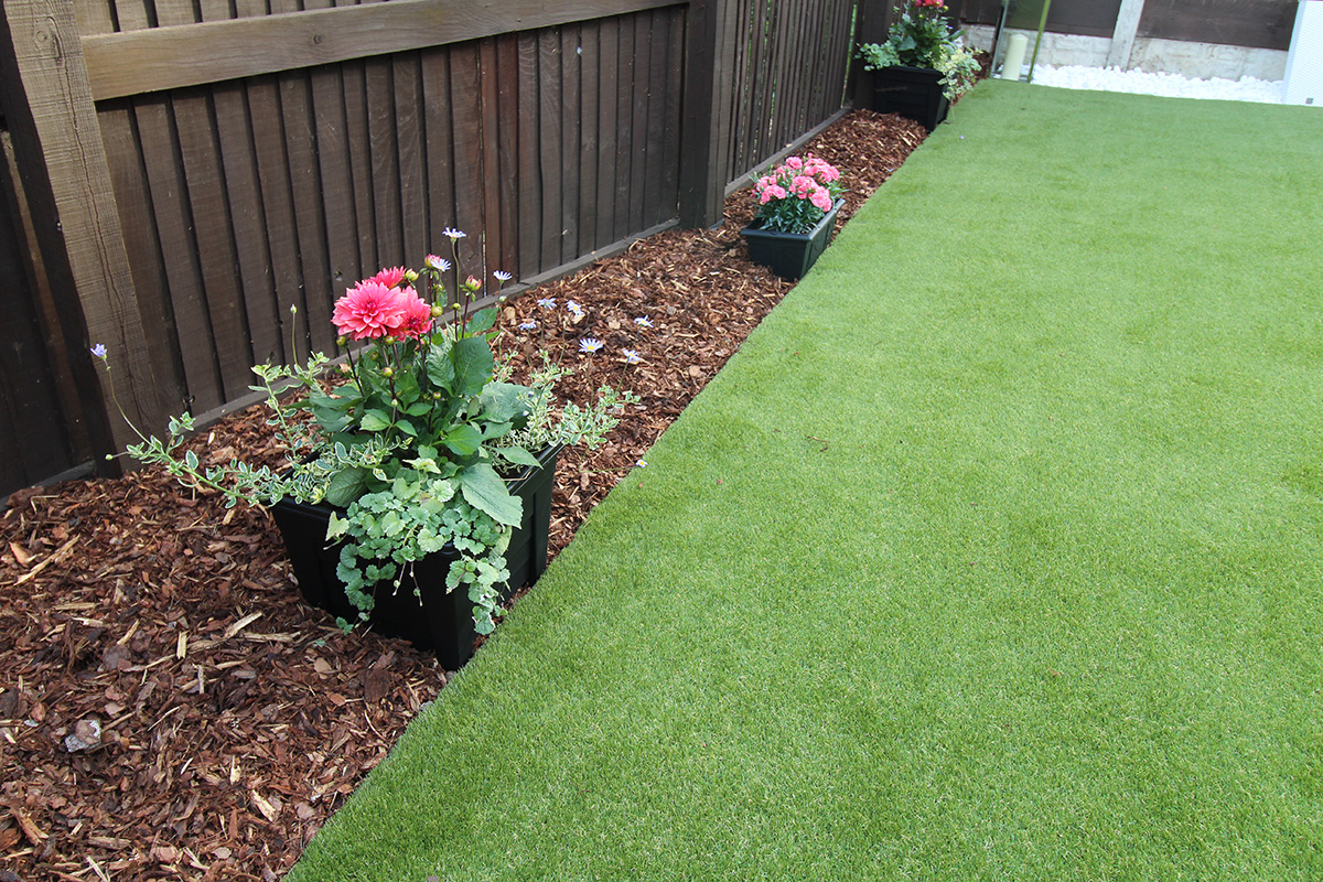 Back Garden Leeds - After Artificial Grass