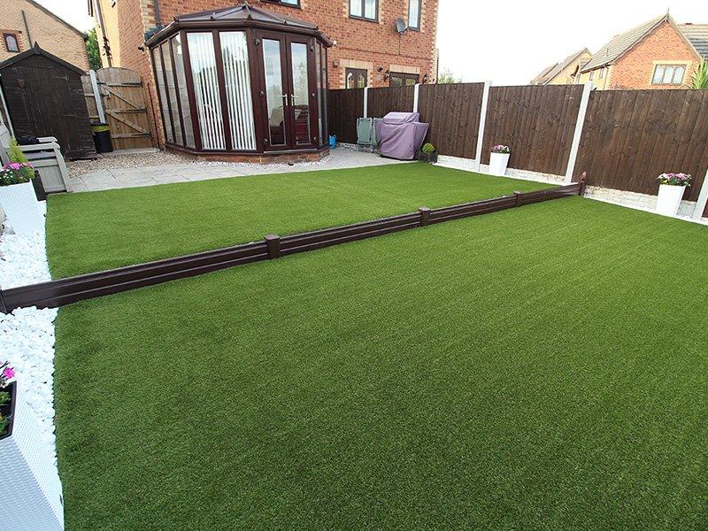 Back Garden Leeds - After Artificial Grass