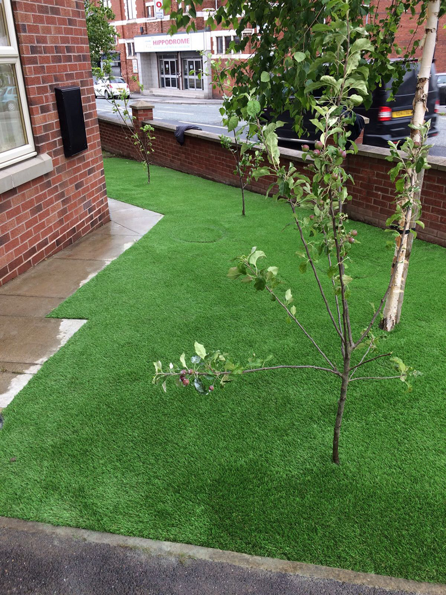 Front Garden - Horsforth Leeds - After Artificial Grass