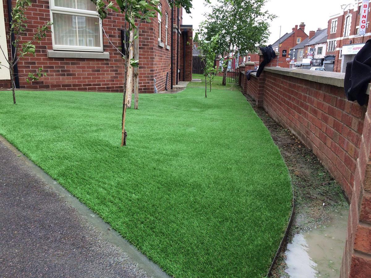 Front Garden - Horsforth Leeds - After Artificial Grass