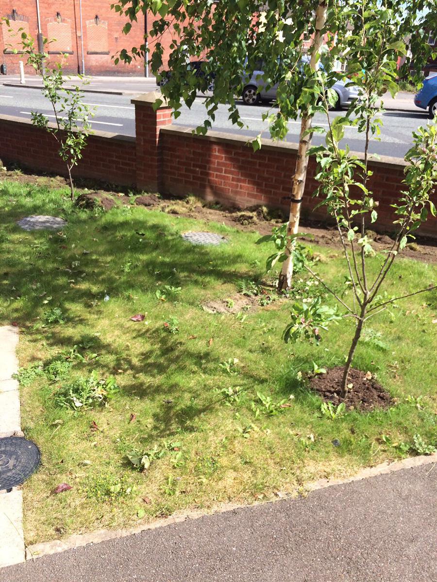 Front Garden - Horsforth Leeds - Before Artificial Grass