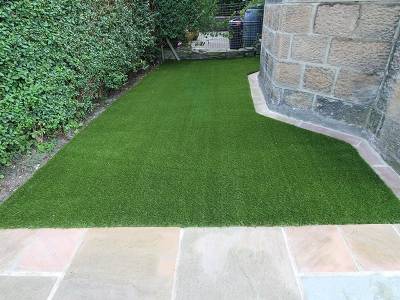 Front Garden Yeadon Leeds after Artificial Grass