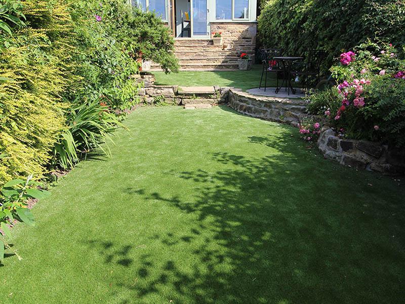 Back Garden Rawdon Leeds after Artificial Grass