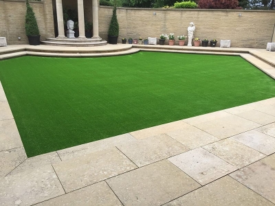 Patio Area - Leeds, West Yorkshire. After Artificial Grass