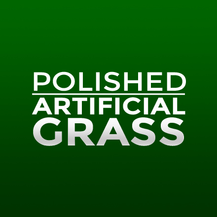 Polished Artificial Grass Logo