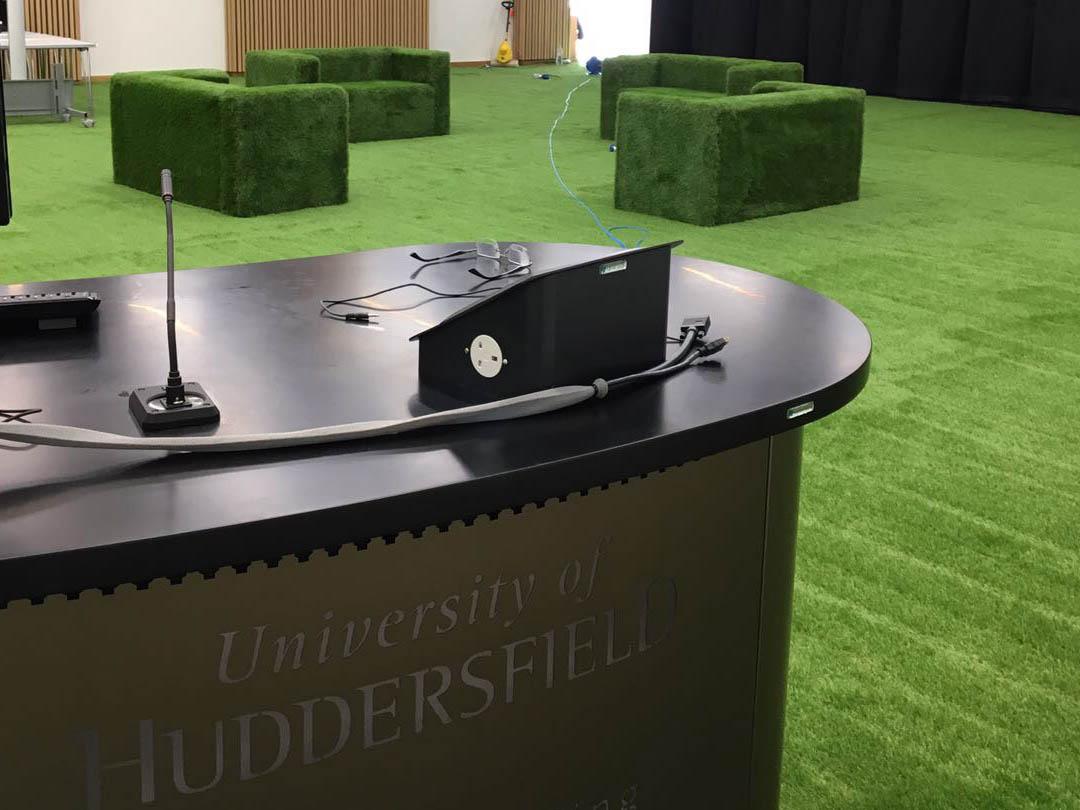 Artificial Grass Event Huddersfield University - After