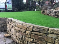 Back Garden - Wakefield - after artificial grass - Polished Artificial Grass