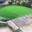 Front garden Wakefield - after artificial grass - Polished Artificial Grass