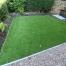 Small Garden - Harrogate - after artificial grass - Polished Artificial Grass